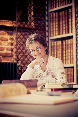 Unser Gast, die Schriftstellerin Jutta Oltmanns