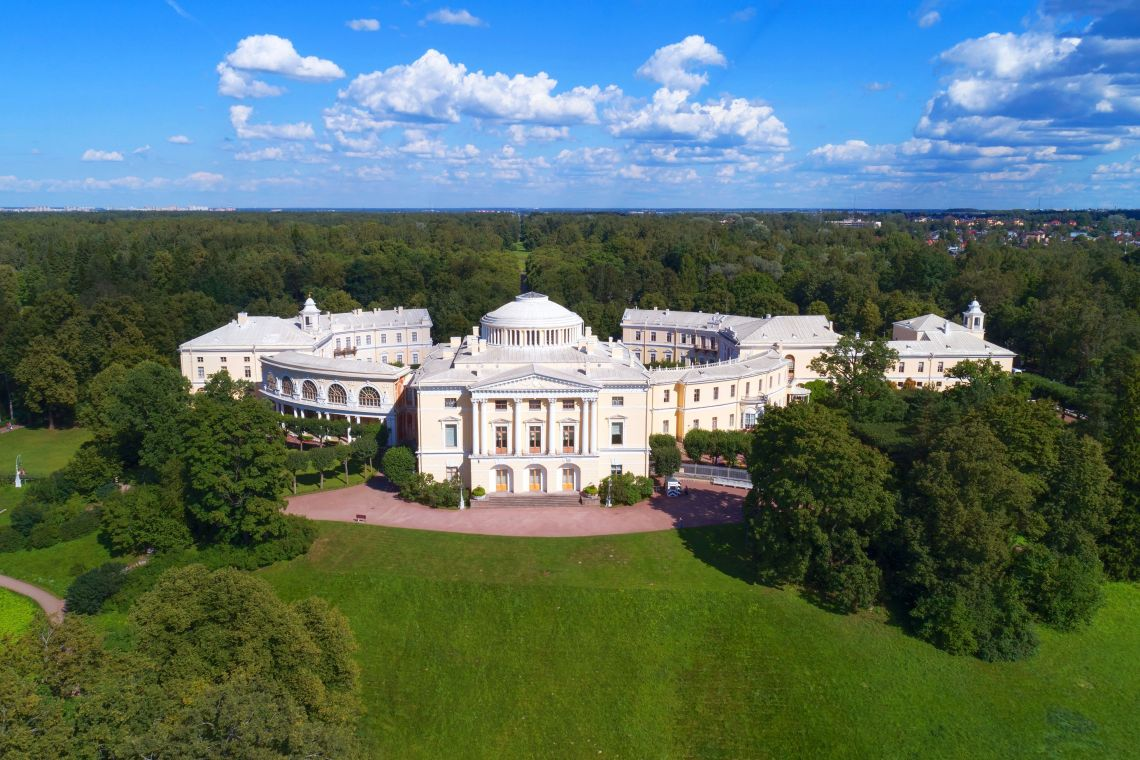 Der Große Palast in Pawlowsk