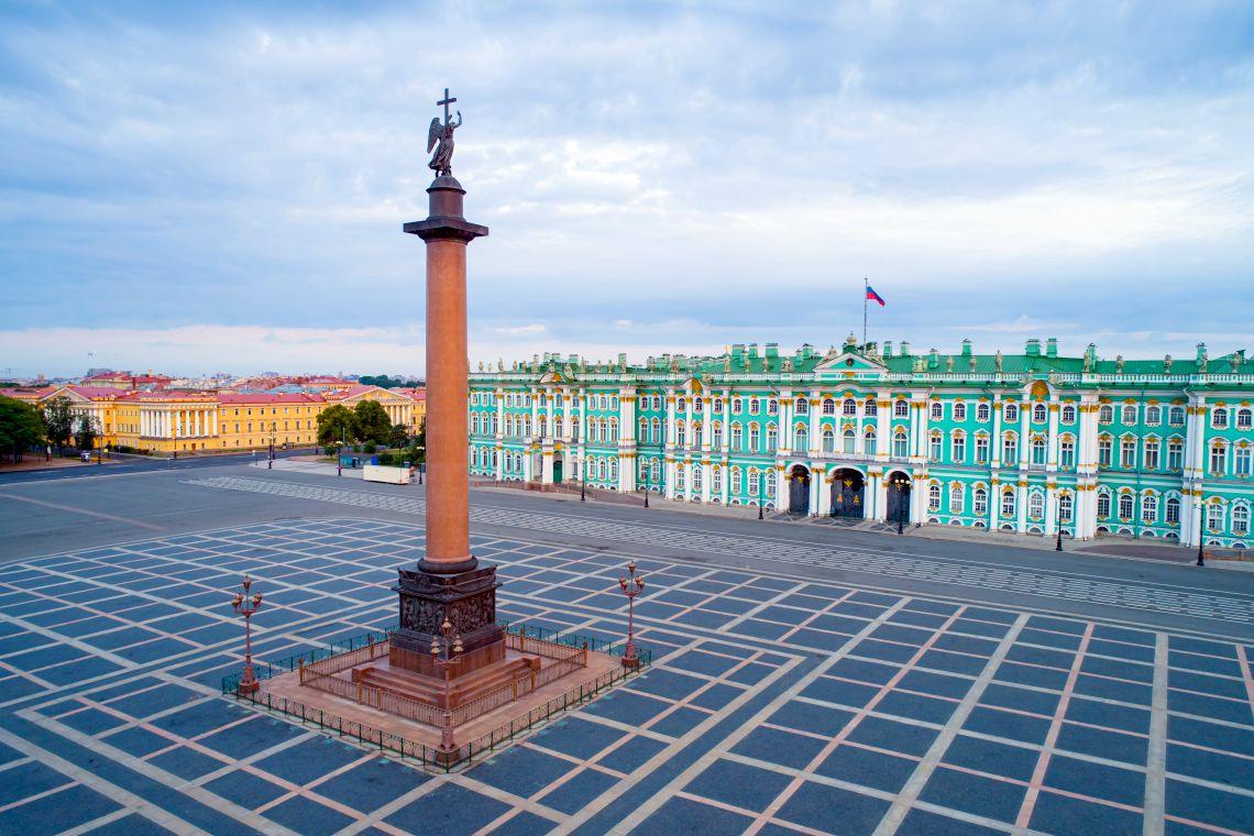 Schlossplatz und Winterpalast