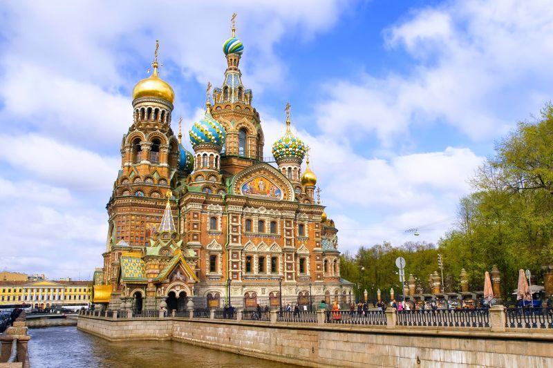 Auf nach Petersburg