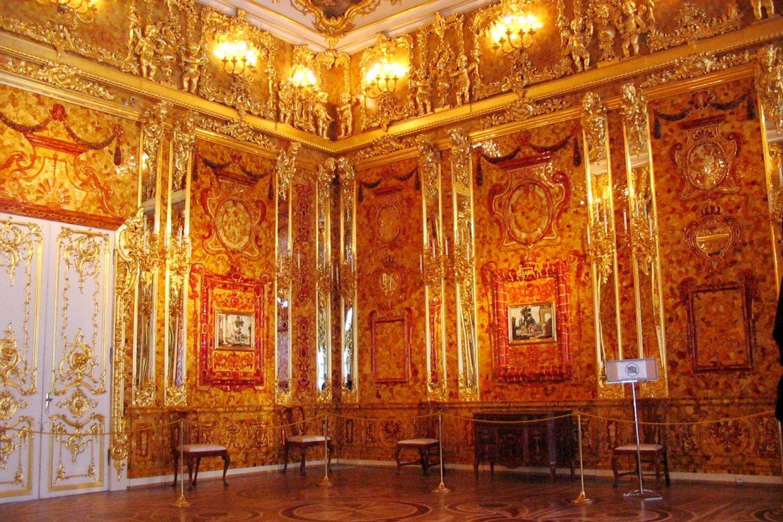 Bernsteinzimmer im Katharinenpalast
