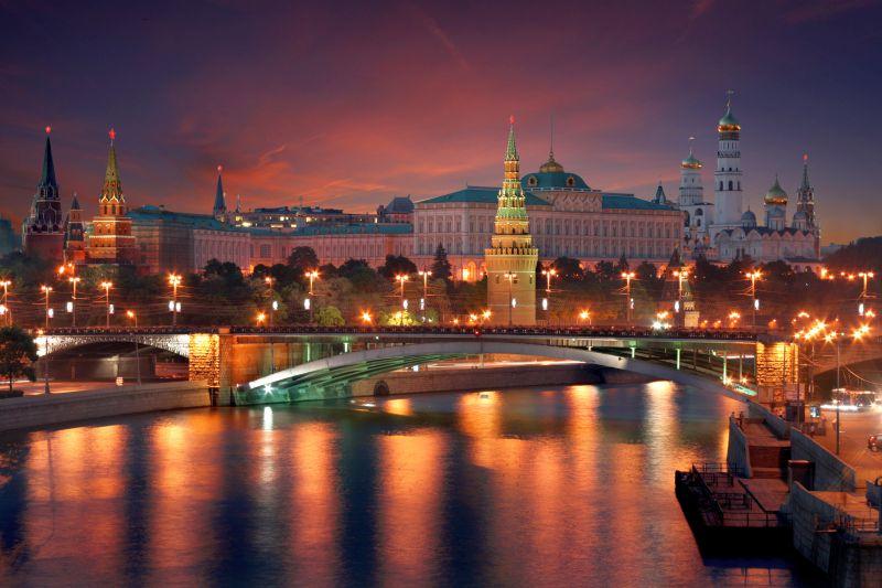 Moskau-St.Petersburg