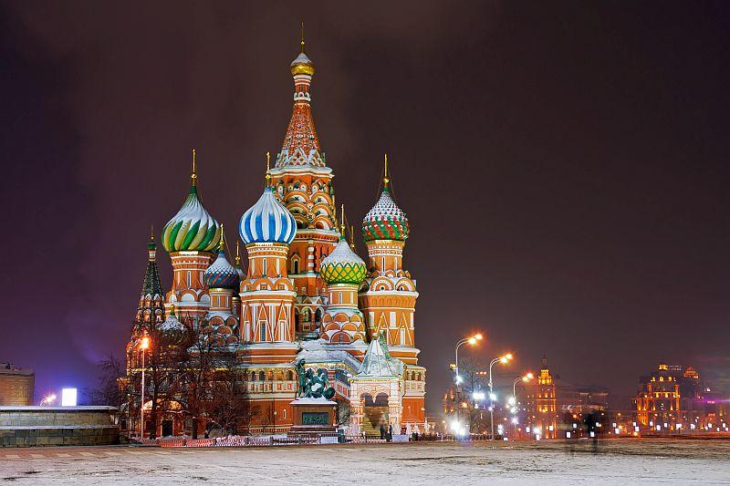 Moskau im Winterkleid