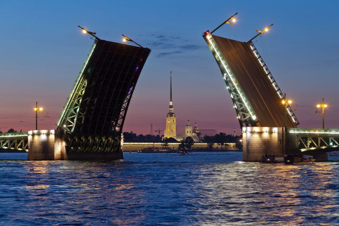 St.Petersburg-Moskau