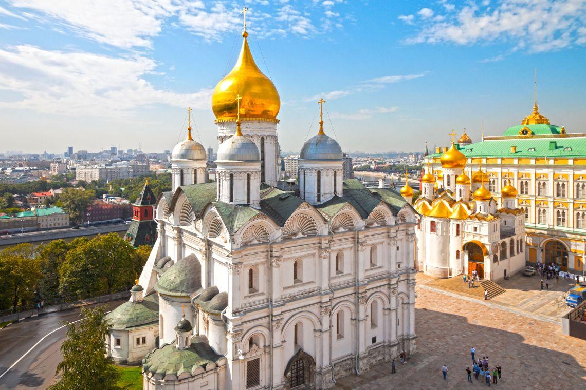 Kreml. Erzengel-Michael-Kathedrale