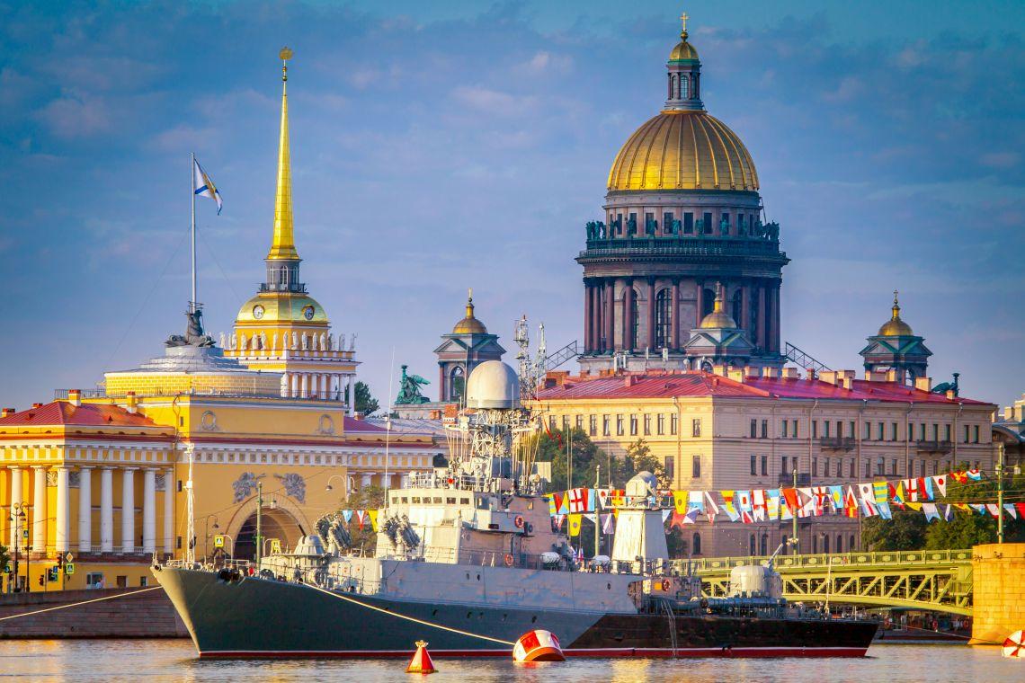 Flottentag in St. Petersburg